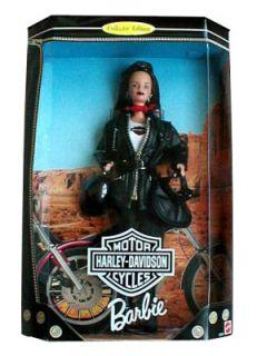 Harley Davidson 2 1998 Barbie Doll