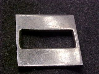 US OFFICER STERLING WW2 CAPTAIN COLLAR BAR MARKED STERLING