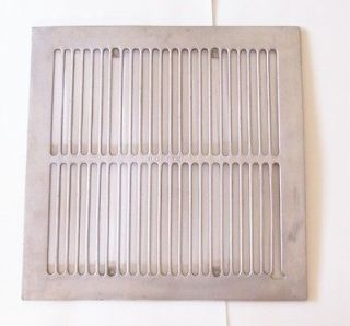 Grill from 1940s 1950s Vintage Kitchen Exhaust Fan 14 x 14 Aluminum