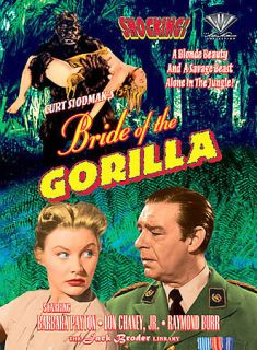 Bride of the Gorilla (DVD) Raymond Burr
