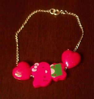 pretty bracelet hello kitty item02 3 silver color size bracelet
