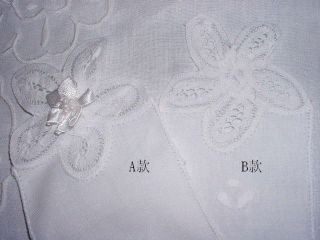 12P Vintage Handmade Fabric Bookmark Battenburg Lace~White~Unique~Free