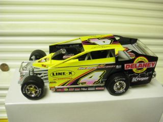 ERTL 1/25 SCALE 2006 BRETT HEARN #4 DIRT MODIFIED RACE CAR NEW MINT IN