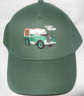 Baseball Cap,Series 1 Land Rover Design Embroidered Logo