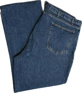 St. Johns Bay Medium Stone Wash Easy Fit (Relaxed Fit) Big and