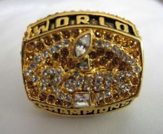 1999 St. Louis Rams Super Bowl Ring Championship ring Football NFL