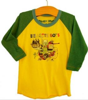New Authentic Rowdy Sprout The Beastie Boys Vintage Inspired Kids