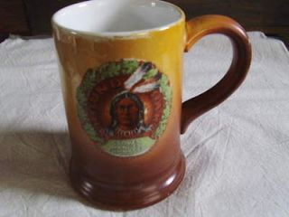 Advertising MUG for ROUND OAK STOVES. Doe Wah Jack. Dated 1907