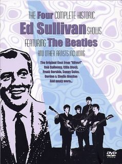 Beatles   Ed Sullivan Presents the Beatles 4 Complete Shows DVD, 2004