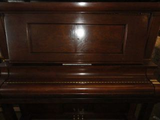 BECKWITH ANTIQUE UPRIGHT PLAYER PIANO MADE IN CHICAGO  & ROEBUCK