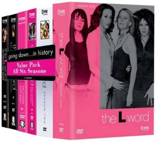 The L Word The Complete Series DVD, 2009, 24 Disc Set