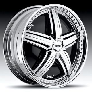 24 DUB PADRONE SPINNER CHROME WHEEL SET