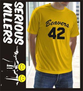 Beavers basket ball team from Teen Wolf mens T shirt gift idea for a