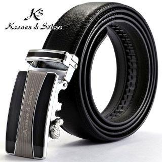 mens genuine leather belts in Belts