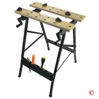 Folding Workbench Work Bench Vise Clamp Woodworking