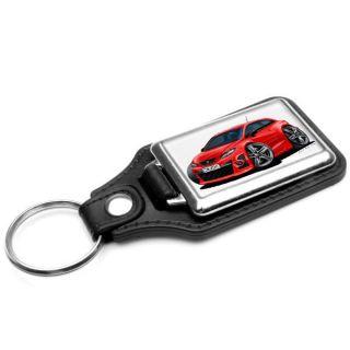 WickedKarz Seat Ibiza MK5 Cupra in Red Stylish Key Ring