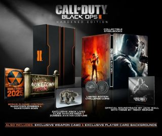 CALL OF DUTY BLACK OPS 2 xbox 360 LIVE AVATAR PROP THE CLAW CODE DLC