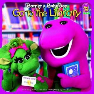 Barney and Baby Bop Go to the Library by Mark S. Bernthal and Lyrick