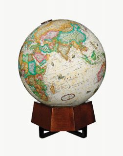 12 Frank Lloyd Wright World Globe Series, Lighted, Beth Sholom