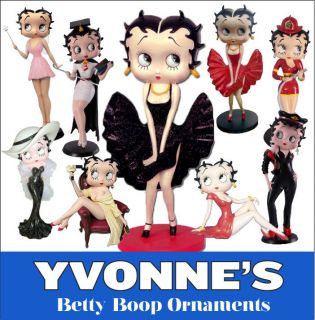 Betty Boop Figurines Figures Ornament New & Boxed