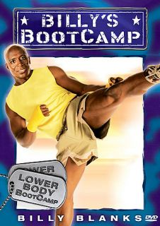 Billy Blanks   Billys Bootcamp Lower Body Bootcamp DVD, 2006
