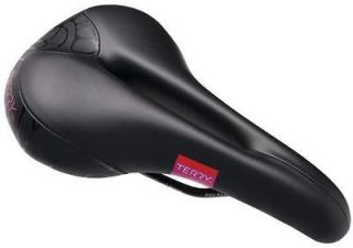 Terry Butterfly Cromoly Gel Womens Bike Bicycle Saddle Seat   Black