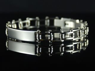 mens stainless steel bracelet in Bracelets
