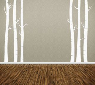Wall Art Tree T5 Birch Vinyl Decor Decal Sticker Mural Decoration T5B