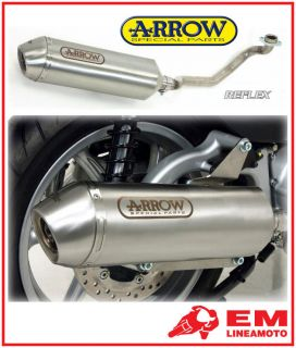 Full Exhaust Arrow Reflex Piaggio Beverly Cruiser 500