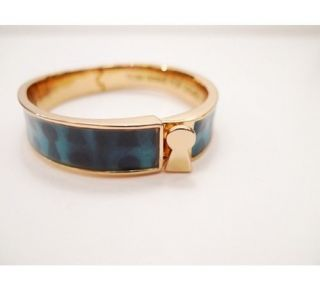 Disney Couture Tom Binns Alice Key Hole Bangle Bracelet