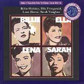 Billie, Ella, Lena, Sarah by Billie Holiday CD, Jun 1994, Sony Music