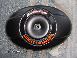 Harley 96 inch screamin eagle air cleaner MATTE BLACK POWDER COAT