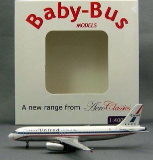 AeroClassics 1/400 A320 United Airlines Retro (N475UA)