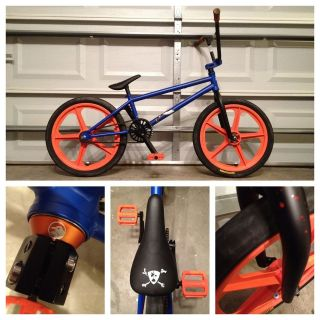 TEMPERED X MASTER BLASTER CUSTOM TREASON BMX BIKE BICYCLE SKYWAY TUFF
