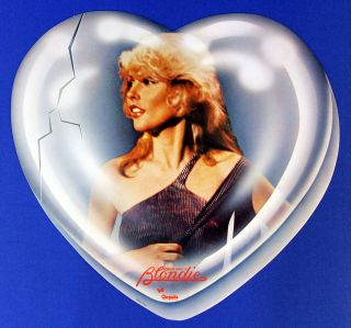 BLONDIE DEBBIE HARRY 1979 HEART OF GLASS RARE VINTAGE STORE PROMO