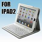 Wireless Bluetooth Keyboard Leather Case Cover Apple iPad iPad 2