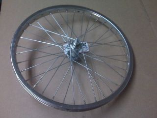 NEW BMX Bike Bicycle Wheel 20 Front Chrome