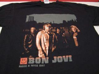 Bon Jovi Have a nice day tour shirt medium