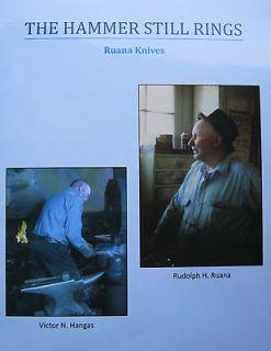 Newly listed THE HAMMER STILL RINGS HISTORY OF RUANA KNIVES
