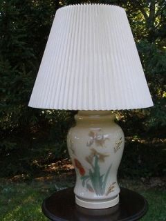 Chinese Ginger Jar Lamp   Collectable   Oriental Lamp  Table Lamp