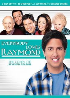 Everybody Loves Raymond The Complete Seventh Season DVD, 2006, 5 Disc