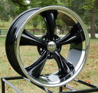 JD Wheels 17x8 BOSS 338 Black 5x4.75 +2 (4.517 bs) 3382 8834 GM Chevy
