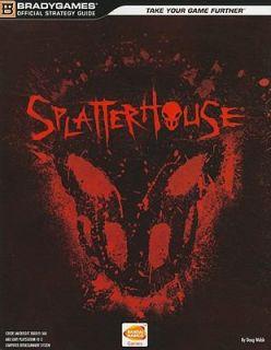 Splatterhouse by Namco and Brady Games Staff 2010, Paperback