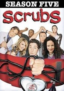 Scrubs   The Complete Fifth Season DVD, 2007, 3 Disc Set