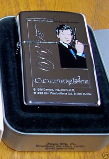 ZIPPO Lighter James Bond 007 GOLDENEYE You Know the Name You Know the