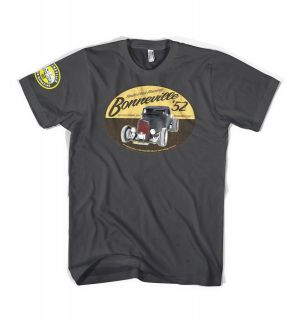 Bonneville Salt Flats Hot Rod Rat Rod custom lowbrow t shirt