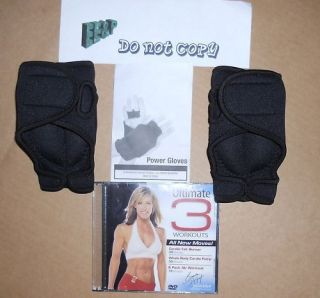 Brenda DyGraf Pair of Power Gloves with Ultimate3 dvd