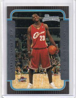 2003 04 BOWMAN #123 LeBRON JAMES ROOKIE RC MIAMI HEATS BV $60