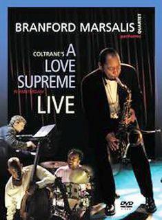 Brandford Marsalis A Love Supreme Live DVD, 2004