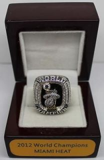 New 2012 Miami Heat World Championship ring replica ring James, size